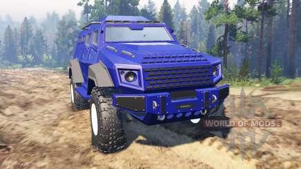 GTA V HVY Insurgent para Spin Tires