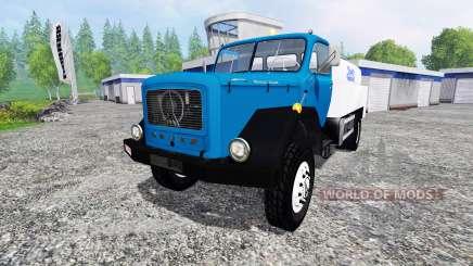 Magirus-Deutz 200D26A 1964 [milk truck] para Farming Simulator 2015