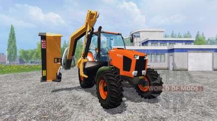 Kubota M135GX [mount mower] para Farming Simulator 2015