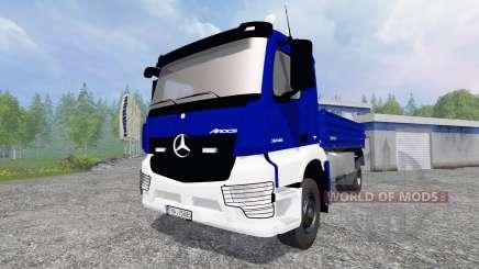 Mercedes-Benz Arocs [kipper] para Farming Simulator 2015