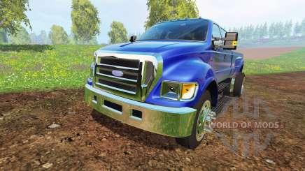 Ford F-650 para Farming Simulator 2015