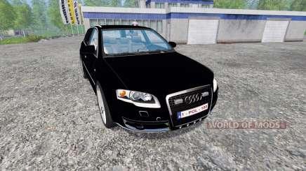 Audi A4 Police v1.1 para Farming Simulator 2015