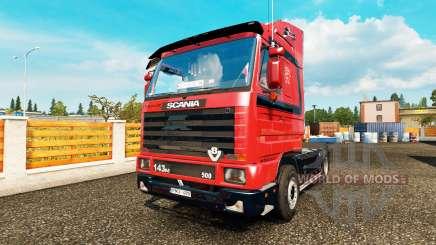Scania 143M VeBa Trans para Euro Truck Simulator 2