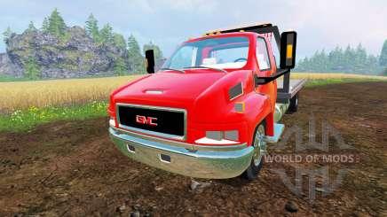 GMC C4500 [tow truck] para Farming Simulator 2015