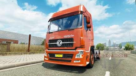 Dongfeng DFL 4181 v1.2 para Euro Truck Simulator 2