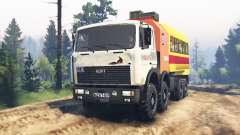 MZKT-7401 Volat para Spin Tires