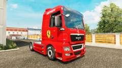 Pele Ferrari no trator HOMEM para Euro Truck Simulator 2