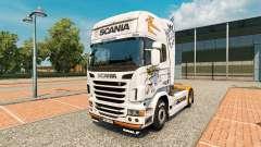Pele para a Scania R2009 caminhão Scania para Euro Truck Simulator 2