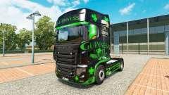 Guinness pele para o caminhão Scania R700 para Euro Truck Simulator 2