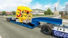 Baixa varrer com um caminhão quebrado para Euro Truck Simulator 2