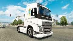 Forsvarsmakten pele para a Volvo caminhões para Euro Truck Simulator 2