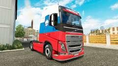 Eslovénia pele para a Volvo caminhões para Euro Truck Simulator 2