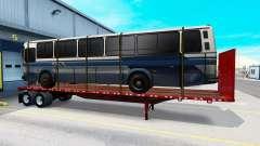 Uma coleção de novos trailers com carga para American Truck Simulator