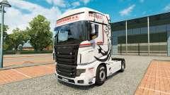 Pele NikoTrans no trator Scania R700 para Euro Truck Simulator 2