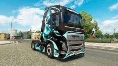 Pele de Dragão para o caminhão Volvo para Euro Truck Simulator 2