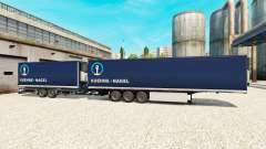 Semi-Reboques Krone Gigaliner [Kuehne Nagel] para Euro Truck Simulator 2