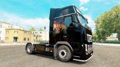 Croata Bandeira da pele para a Volvo caminhões para Euro Truck Simulator 2
