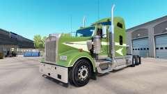 A pele se movem No caminhão Kenworth W900 para American Truck Simulator