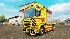 GATO de pele para caminhão Scania para Euro Truck Simulator 2