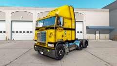 A pele no CCC caminhão Freightliner FLB para American Truck Simulator