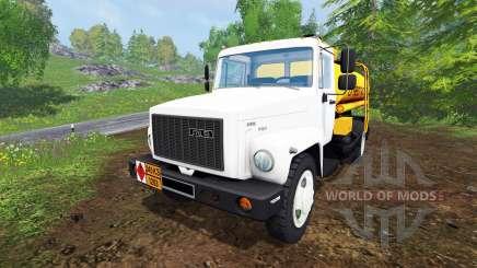 GAZ-SAZ-35071 [petroleiro] para Farming Simulator 2015