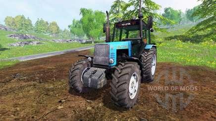 MTZ-1221 Bielorrússia SAREx para Farming Simulator 2015
