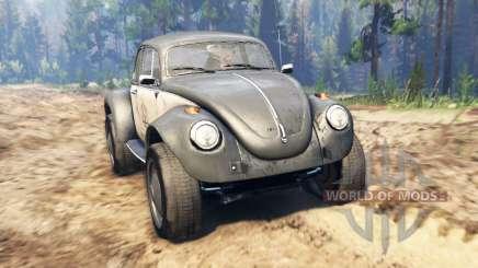 Volkswagen Beetle Custom para Spin Tires
