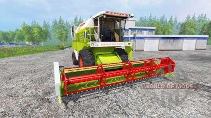 CLAAS Dominator 108SL [advanced] para Farming Simulator 2015