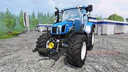 New Holland T6.160 [real engine] para Farming Simulator 2015