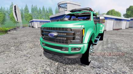 Ford F-450 Super Duty 2017 [platinum edition] para Farming Simulator 2015