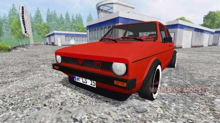 Volkswagen Golf I GTI 1976 para Farming Simulator 2015