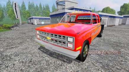 Chevrolet Silverado 1984 para Farming Simulator 2015