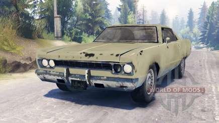 Plymouth Fury III para Spin Tires