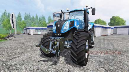 New Holland T8.320 [real engine] para Farming Simulator 2015