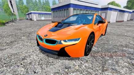 BMW i8 eDrive v1.7 para Farming Simulator 2015