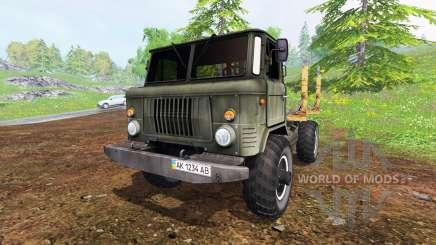 GAZ-66 [madeira] para Farming Simulator 2015