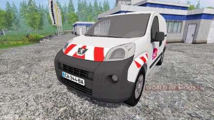 Peugeot Bipper [sncf] para Farming Simulator 2015
