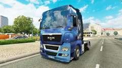 A pele do Efeito de Massa para trator HOMEM para Euro Truck Simulator 2