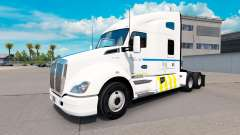 Pele de Transporte de Quebec, no Kenworth trator para American Truck Simulator