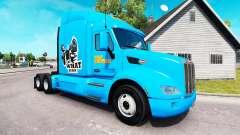 Ficção de polpa de pele para o caminhão Peterbilt para American Truck Simulator