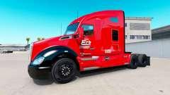 Erb Transporte de pele para Kenworth trator para American Truck Simulator