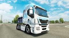 Pele Klanatrans v2.0 trator Iveco para Euro Truck Simulator 2