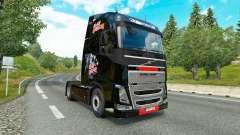 Iron Maiden pele para a Volvo caminhões para Euro Truck Simulator 2