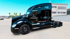 Allen Transporte de pele para Kenworth trator para American Truck Simulator