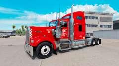 Heartland Express pele [red] caminhão Kenworth para American Truck Simulator