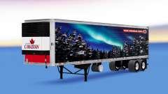 A pele da Molson Canadian no trailer para American Truck Simulator