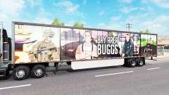 A pele da Área da Baía de Buggs no trailer para American Truck Simulator