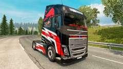 O Red Bull pele para a Volvo caminhões para Euro Truck Simulator 2