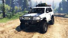 Toyota Land Cruiser 100 2000 [Samuray] v2.0 para Spin Tires