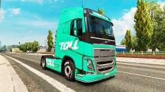 Pedágio da pele para a Volvo caminhões para Euro Truck Simulator 2